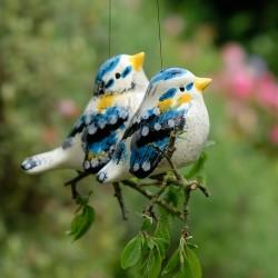Závěsný ptáček - Sýkorky - dvojice