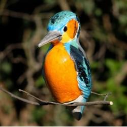 Závěsný ptáček - ledňáček
