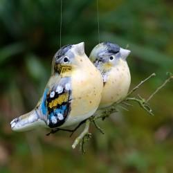 Závěsný ptáček - Sýkorky dvojice