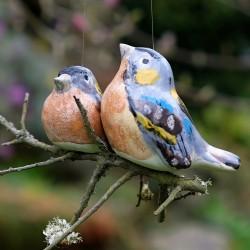 Závěsný ptáček - dvojice