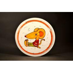 Talířek dezertní - myška